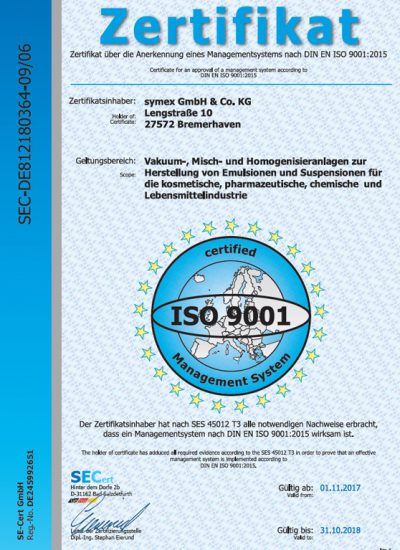 9001 400x550 - Unternehmen